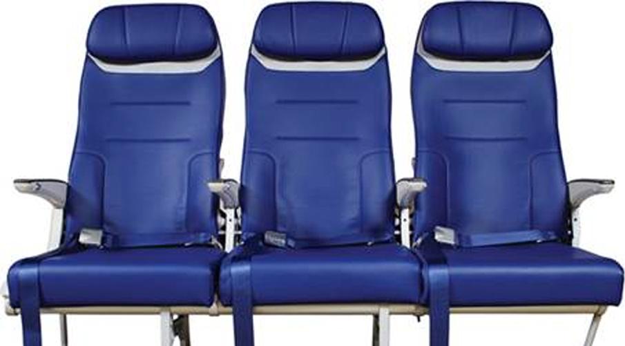 西南航空的未来座椅亮相汉堡 AIX 展览会