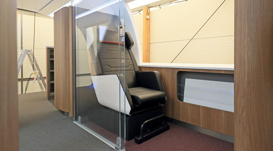 ELeather  与德国联邦铁路公司合作开发 Idea 概念列车
