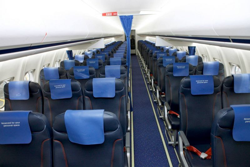 KLM CITYHOPPER E-LEATHER SEATS
