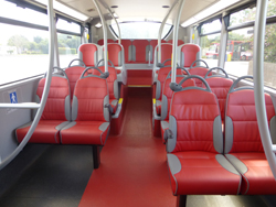 E-LEATHER INTERIOR FOR PLYMOUTH CITYBUS