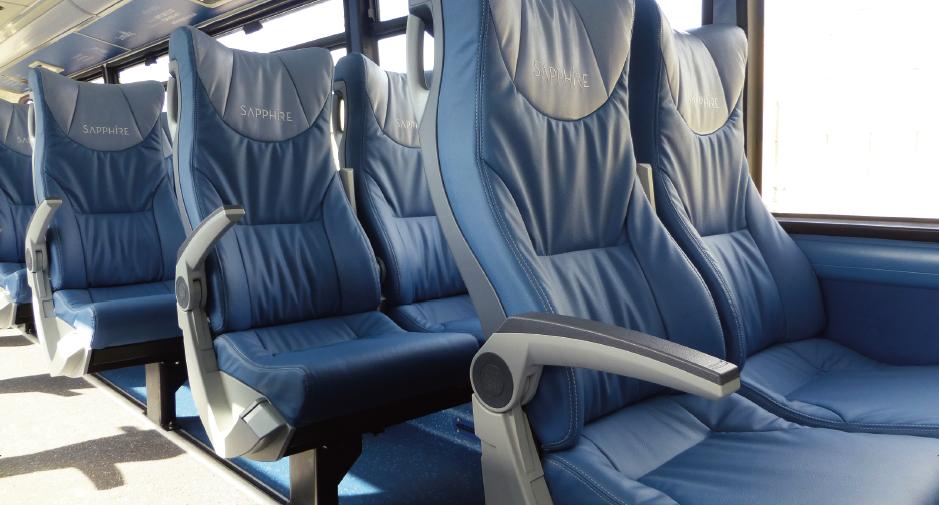 Sapphire 巴士座椅
