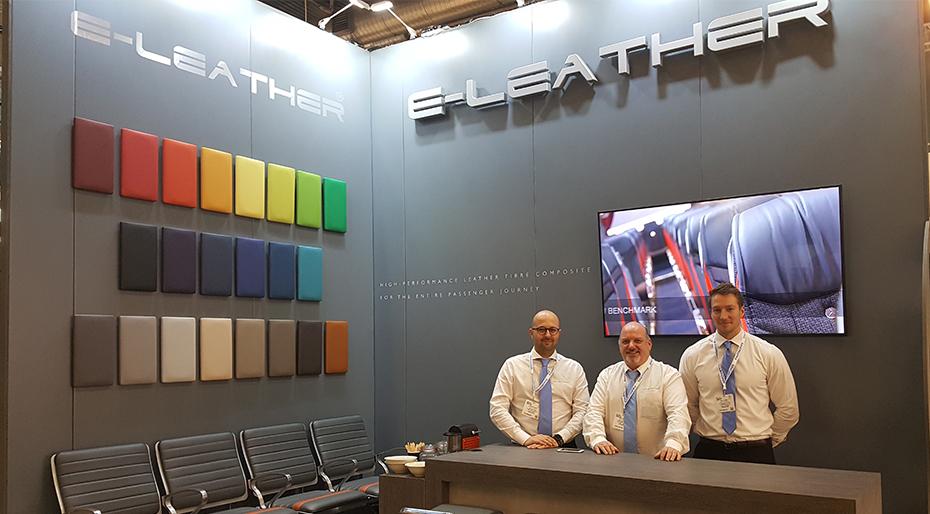ELeather 亮相 2018 年客运枢纽展
