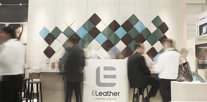 ELeather exhibition stand
