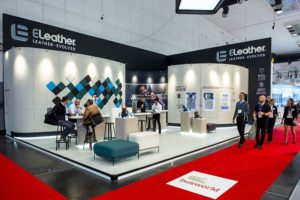 ELeather stand Busworld 2019