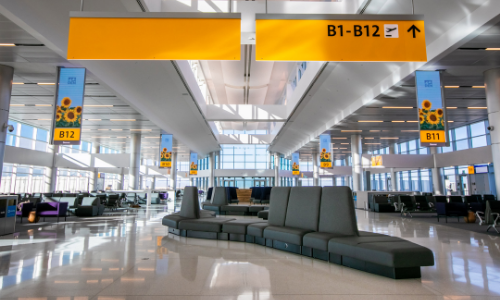 Denver Airport Concourse B