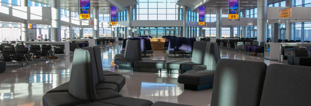 sustainable airport leather